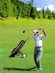 Golf Course Fraser's Hill - Pahang Tourist Attractions